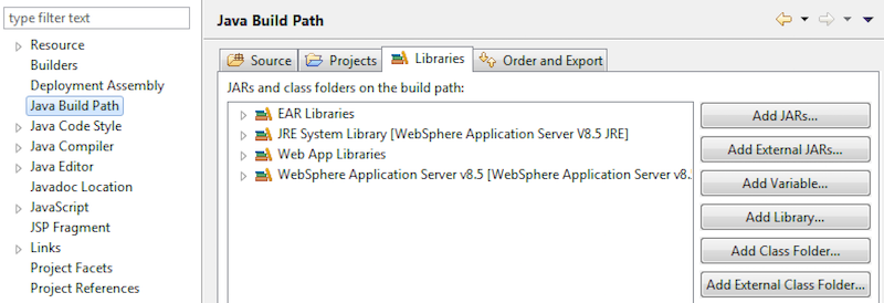 Where to check Java Build Path in Eclipse